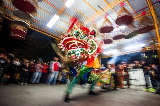 2 - Lion dance