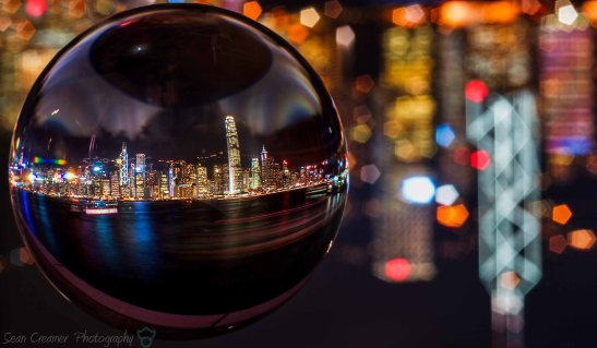 Bank china and ifc ball